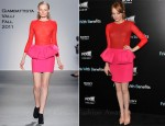 "Emma Stone In Giambattista Valli - ""Friends With Benefits"" New York Premiere"