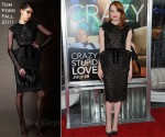 "Emma Stone In Tom Ford - ""Crazy, Stupid, Love"" World Premiere"