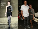 Estelle In Mark + James Badgley Mischka - Pre-ESPY Dinner