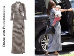 In Miranda Kerr's Closet - Diane von Furstenberg Abigail Dress