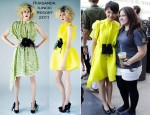 Ginnifer Goodwin In Roksanda Ilincic - Comic Con 2011