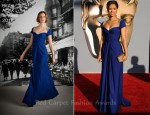 Gugu Mbatha-Raw In Reem Acra - BAFTA Brits To Watch Event