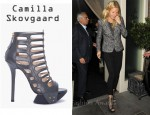 In Gwyneth Paltrow's Closet - Camilla Skovgaard Spear Stiletto Caged Booties