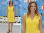 Hilary Swank In Tory Burch - Giffoni Film Festival