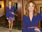 Jayma Mays In Rebecca Minkoff - Rebecca Minkoff Shop In Shop Event