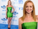 "Jayma Mays In Reem Acra - ""The Smurfs"" World Premiere"