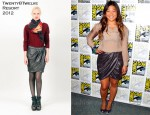 "Jenna Ushkowitz In Twenty8Twelve - ""Glee"" Press Line: Comic Con 2011"