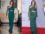 Jennifer Lopez In Emilio Pucci - BAFTA Brits To Watch Event