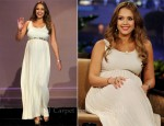 Jessica Alba In Alice + Olivia - The Tonight Show With Jay Leno
