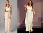 In Jessica Alba's Closet - Alice + Olivia Ryan Belt Dress