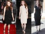 Catching Up With Julianne Moore In Stella McCartney, Lanvin & Tom Ford