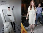 Julianne Moore In Lanvin - 'Live With Kelly And Regis'