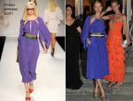 Karolina Kurkova In Fendi - Ischia Global Film and Music Festival