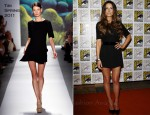 "Kate Beckinsale In Tibi - ""Underworld 4"" & ""Total Recall"" Discussion Panels: Comic Con 2011"