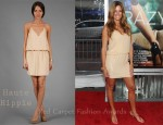 In Kelly Bensimon's Closet - Haute Hippie Sequin Halter Dress