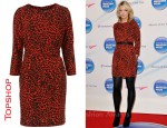 In Lauren Laverne's Cloest - Topshop Leopard Print Dress