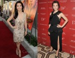 "Li BingBing In Roberto Cavalli & Diane von Furstenberg - ""Snowflower And The Secret Fan"" LA & NY Screenings"