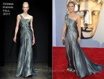 Maria Bello In Donna Karan - BAFTA Brits To Watch Event
