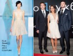"Mila Kunis In Elie Saab Couture - ""Friends With Benefits"" Moscow Premiere"