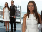 "Mila Kunis In Louis Vuitton - ""Friends With Benefits"" Moscow Photocall"