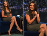 Mila Kunis In Roland Mouret - Late Night With Jimmy Fallon