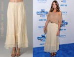 In Olivia Palermo's Closet - Elizabeth and James Maxi Flared Skirt