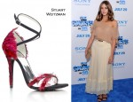 "Olivia Palermo Debuts The Stuart Weitzman Young Hollywood Cares Collection @ ""The Smurfs"" World Premiere"