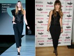 Olivia Wilde In Emporio Armani - NYLON August Denim Issue Launch Party