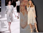Sarah Jessica Parker In Elie Saab Couture - Artistry Fall/Winter 2011/2012 Launch
