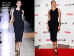 Sarah Murdoch In Roland Mouret - Australia's Next Top Model Sydney Launch