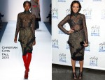 Selita Ebanks In Christian Cota - 2011 Children Of The City Benefit