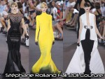 Stéphane Rolland Fall 2011 Couture