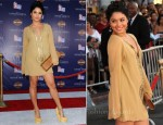 "Vanessa Hudgens In Farah Khan - ""Captain America: The First Avenger"" LA Premiere"