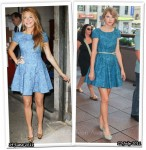 Who Wore Tibi Better? Blake Lively or Taylor Swift