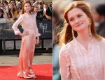 "Bonnie Wright In Miu Miu - ""Harry Potter And The Deathly Hallows Part 2"" World Premiere"