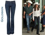 In Catherine Middleton's Closet - Goldsign 'Passion' Bootcut Jeans