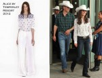 Catherine, Duchess of Cambridge In Alice by Temperley - Calgary Stampede
