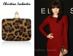 In Daisy Lowe's Closet - Christian Louboutin Dancing Queen Calf Hair Box Clutch