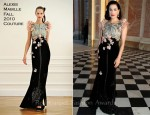 Dita von Teese In Alexis Mabille - Paris Fashion Week Haute Couture Fall 2011 Closing Party