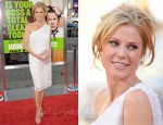 "Julie Bowen In Naeem Khan - ""Horrible Bosses"" LA Premiere"