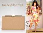 In Zooey Deschanel's Closet - Kate Spade New York Victoria Falls Samira Clutch