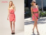 In Leann Rimes' Closet - Paul & Joe Sister Silk Bandeau Dress