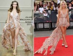 """Mollie King In Julien Macdonald - """"Harry Potter And The Deathly Hallows Part 2"""" World Premiere"""