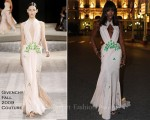 Naomi Campbell In Givenchy Couture - Wedding Gala Dinner