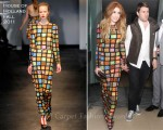 Nicola Roberts In House of Holland - Cheryl Cole's 28th Birthday Party @ The Sanderson Hotel