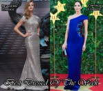 Best Dressed Of The Week - Rosie Huntington-Whiteley In Naeem Khan & Eugenia Silva In Armani Privé