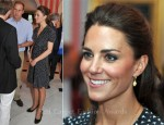 Catherine, Duchess of Cambridge In Issa – Youth Reception at Rideau Hall