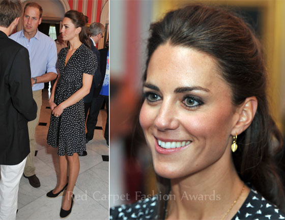 Catherine, Duchess of Cambridge In Issa – Youth Reception at Rideau ...