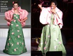 Aretha Franklin In Oscar de La Renta - DTE Energy Center Concert
