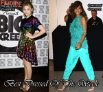 Best Dressed Of The Week - Chloe Moretz In Christopher Kane & Rihanna In Antonio Berardi